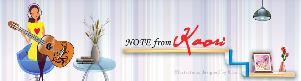 Note from Kaori